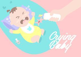 Gråtande baby Bakgrund