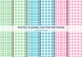 Pastell Flanell-Vektor-Muster