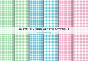 Pastell flanell vektor Mönster