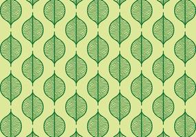 Grüne Nahtlose Blatt Hintergrund vektor
