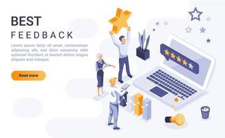 bästa feedback isometrisk målsida