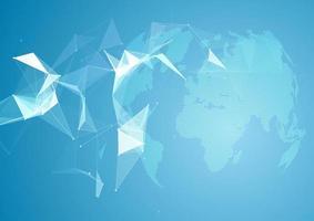 nätverkskommunikationsbakgrund vektor