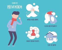 Covid 19 Pandemie Infografik