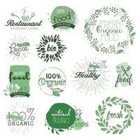 ekologiska livsmedel tecken
