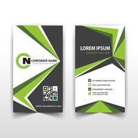 gröna vinklar företags kortmall