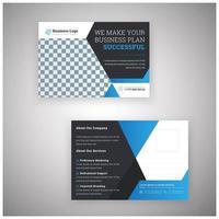 professionelles Geschäftspostkarten-Design