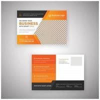 Marketingmaterial Postkartenvorlage