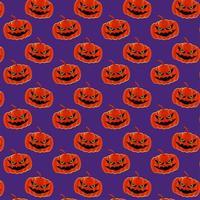 Halloween Kürbis Muster