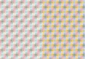 Square pastellfärgade