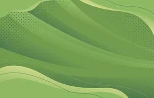 monochromer moderner grüner Wellenhintergrund