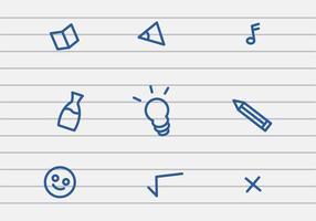 Vector School Stuff Icon