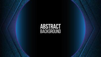 abstrakte Technologie Rahmendesign vektor