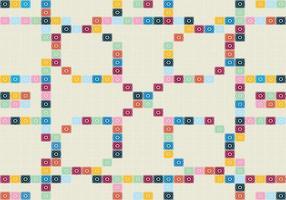 Portugiesisch Mosaik-Muster vektor