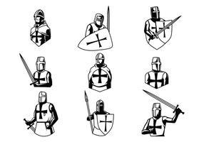 Fri Templar vektorer