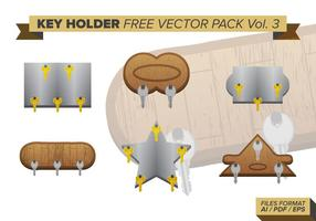 Key Holder Free Vector-Pack Vol. 3