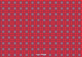 Blau / Rot Flanell-Muster-Hintergrund vektor