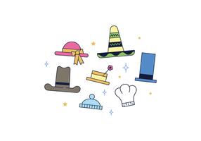 Freie Hüte Vector