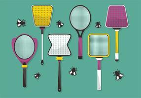 Fly Swatter Vector Design