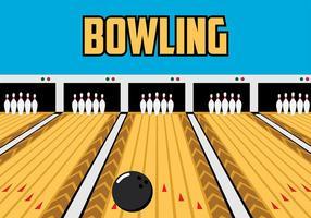 Bowling Lane vektor