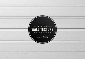 Vit Wood Wall Panel Bakgrund vektor