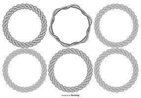 Plait Frames Sammlung vektor