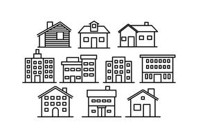 Freie Gebäude-Vektor