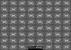 Abstrakt sömlös thailändsk mönster - vektor
