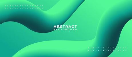 3D krökt linje form abstrakt flytande bakgrund