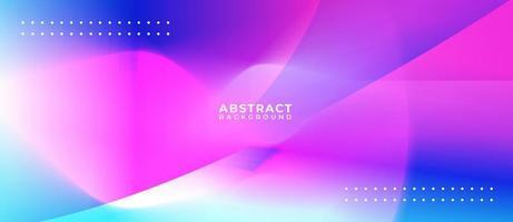 överlappande brights former abstrakt bakgrundsbanner
