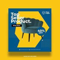 banner försäljning formgivningsmall vektor