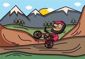 Mountainbike Vector