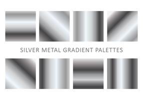 Metallic Gradientenvektoren vektor