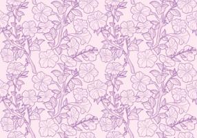 Petunia Seamless Patterns vektor