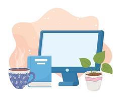 Home-Office-Zusammensetzung