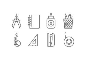 Office Tool-Vektor-Icons