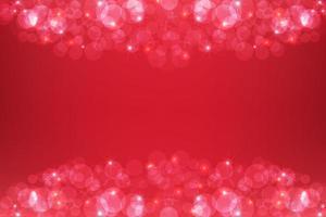 röd glittrande bakgrund för god julferie vektor