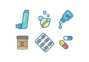 Freie Therapeutische Medizin Vektoren