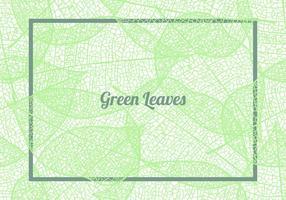 Nahtlose Muster Hintergrund der grünen Blätter vektor