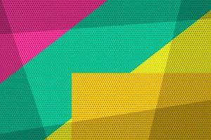 geometrischer Pop-Art-Weinlesehintergrund vektor