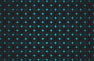 glödande blå stjärnmönster