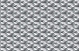 geometrisches 3D-Würfelmuster vektor
