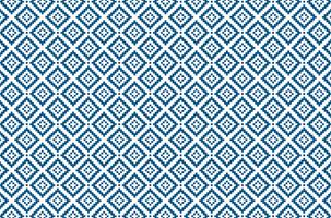 geometrisches Diamantpixelblau-Muster