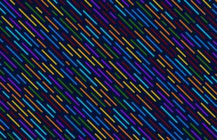 buntes diagonales Linienmuster vektor