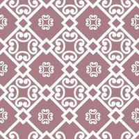 abstraktes florales asiatisches Fliesenmuster