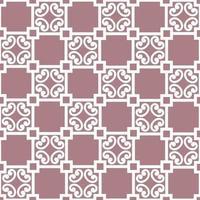 abstrakt blommig asiatisk kakel mönster vektor