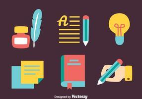 Berättande Element Platt vektor