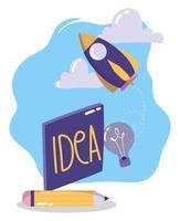 kreativitet och teknologikonceptkomposition