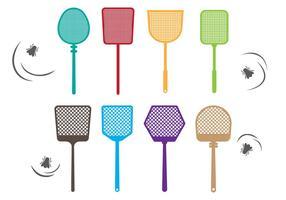Free Fly Swatter Vektor Sammlung