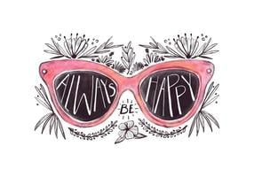 Freie Sonnenbrille Zitat