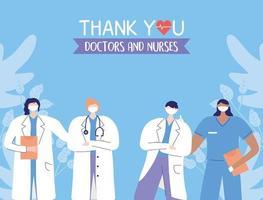 Gruß- und Dankbarkeitskomposition für Beschäftigte im Gesundheitswesen